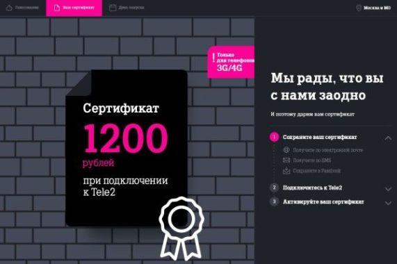 сертификат 1200