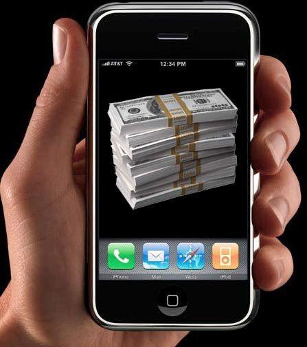 деньги в смартфоне теле2