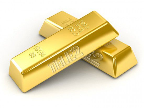 золотые слитки теле2