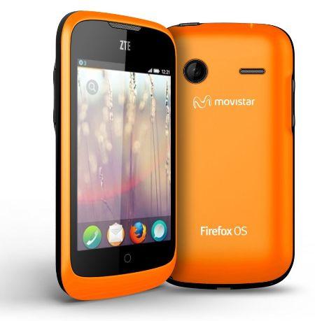оранжевый телефон
